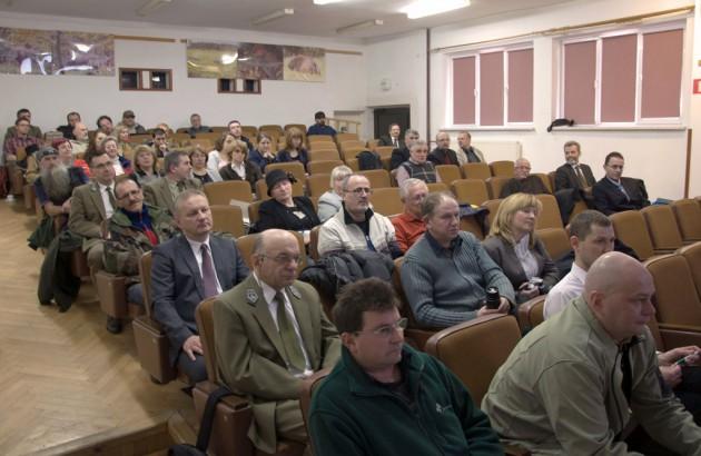 Zdjęcie: Uczestnicy konferencji , fot. Archiwum Gminy Lutowiska
