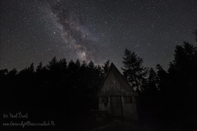 Gwiazdy w Bieszczadach
