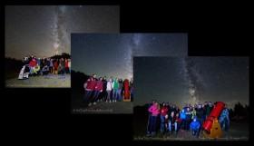 Wspólne zdjęcia z pokazów astronomicznych